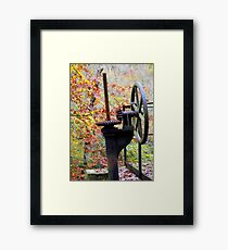 Ironwork  Framed Print