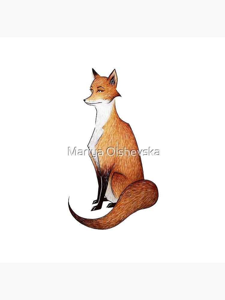 Serious Fox by OzureFlame