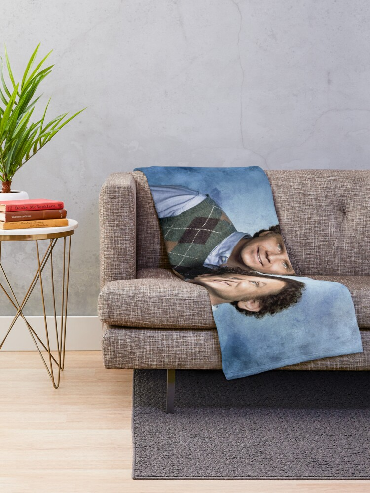 Alternate view of Step Brothers Throw Blanket