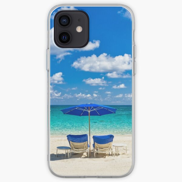 Turquoise Tropical Paradise iPhone Soft Case