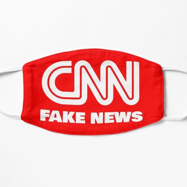 CNN Fake News Flat Mask