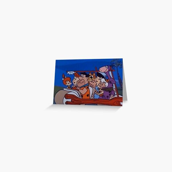 The Flintstones Greeting Card
