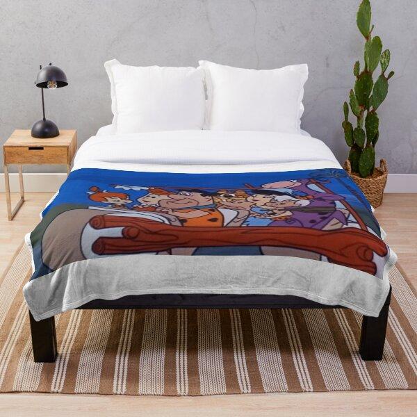 The Flintstones Throw Blanket