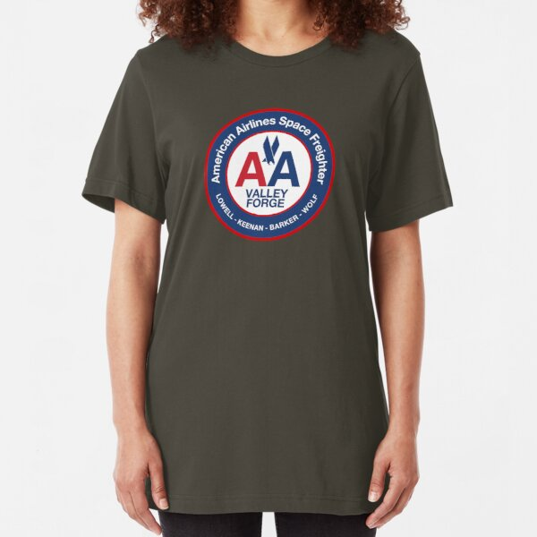 Silent Running - AA Space Freighter Valley Forge Slim Fit T-Shirt