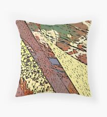 In a simplistic manner Throw Pillow
