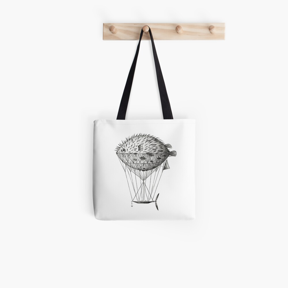 Airfish Express Tote Bag