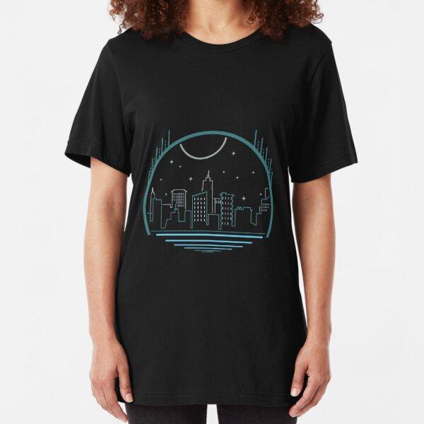 Stadt linien Slim Fit T-Shirt