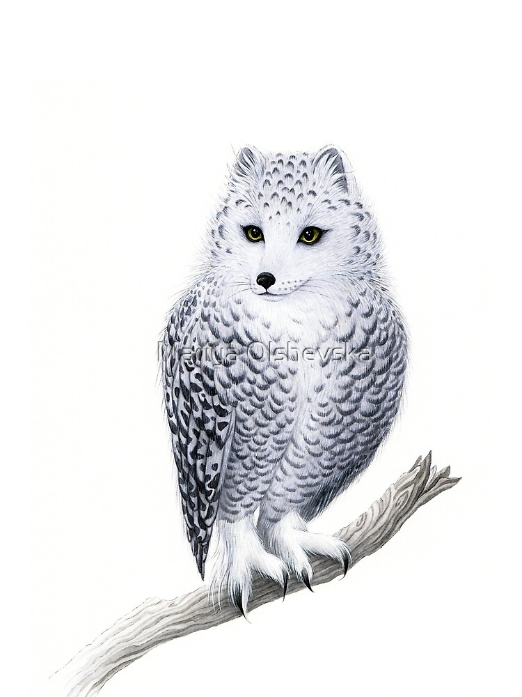 Snowy Fowl by OzureFlame
