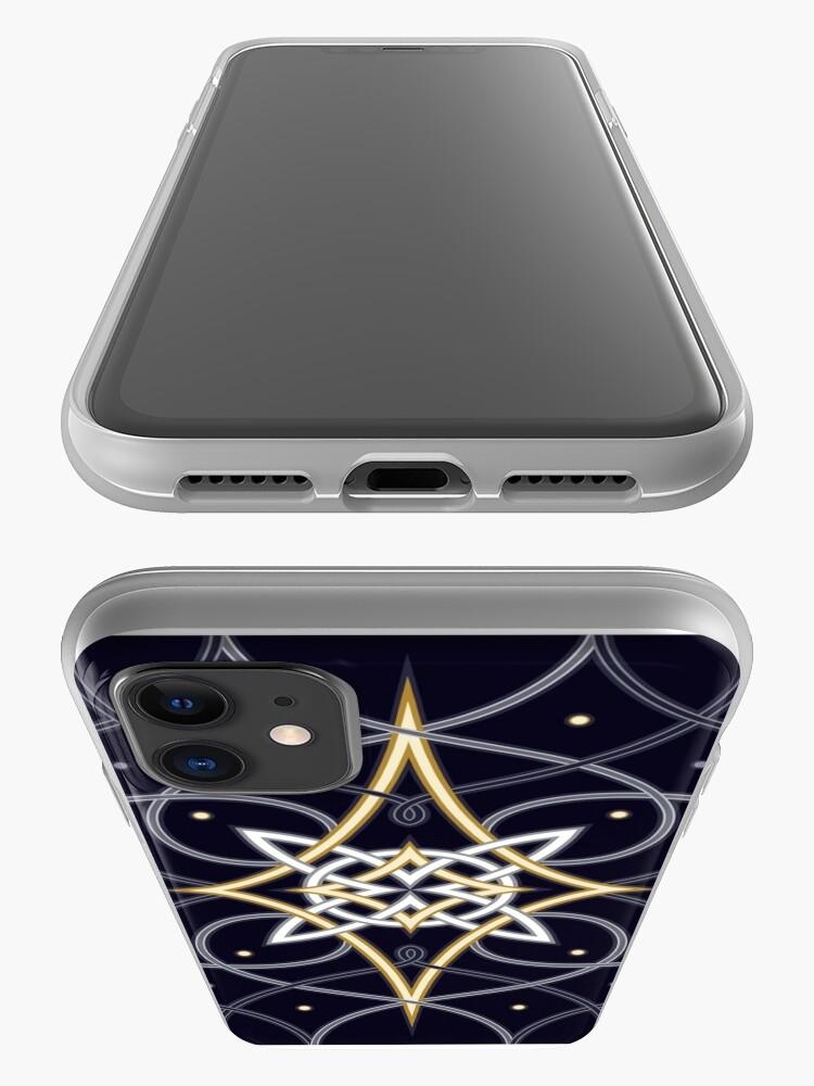 Alternate view of Ostara Tarot Card Design 3 iPhone Case & Cover