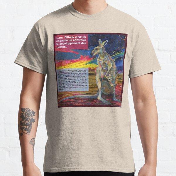 Le Choix (Le Kangourou Roux) Classic T-Shirt