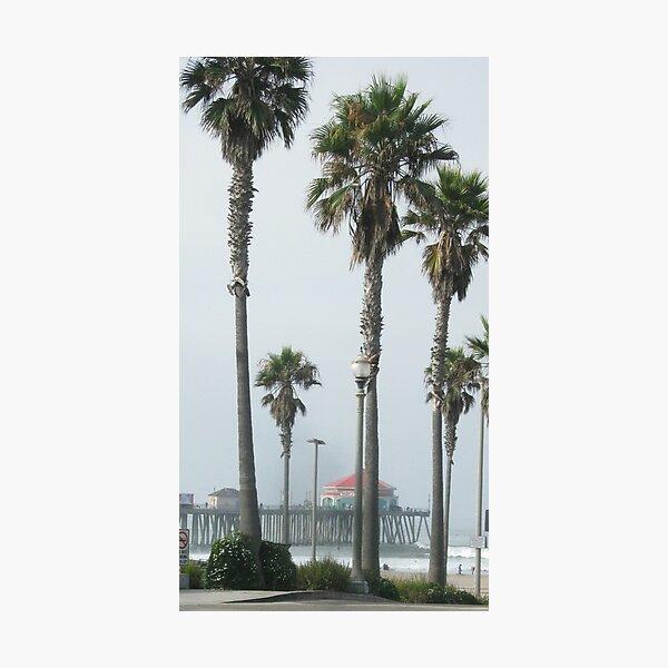 Huntington Beach pier Photographic Print