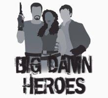 Big Damn Heroes - Firefly poster