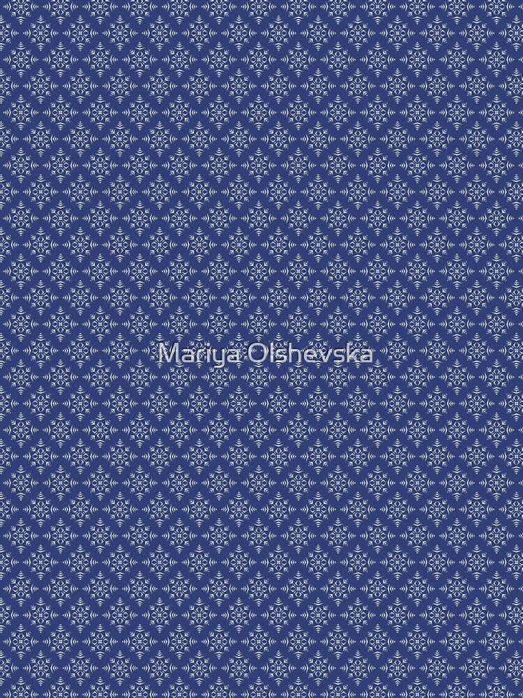 Paper Cut Snowflake Pattern by OzureFlame