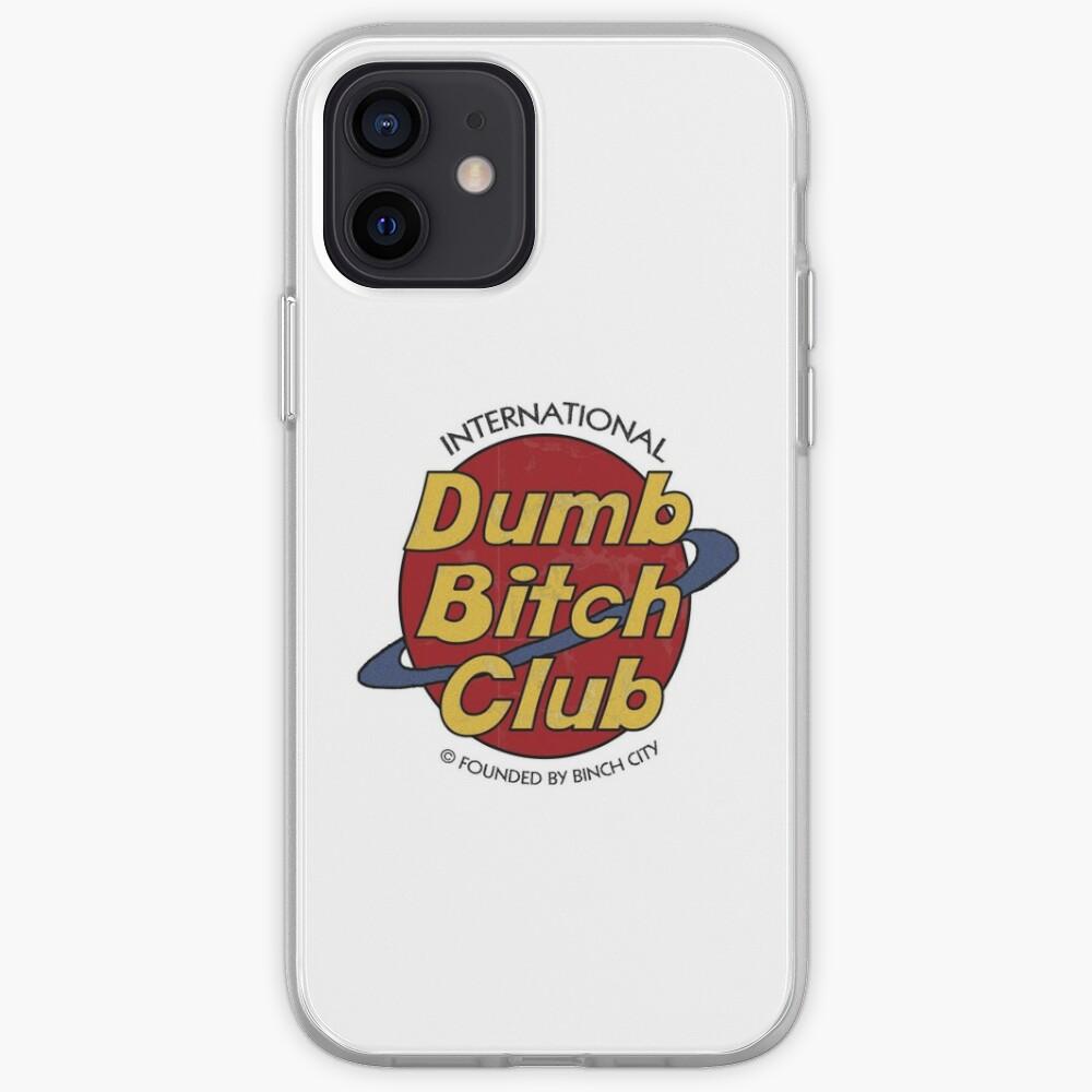 Dumb Bitch Club iPhone Case & Cover