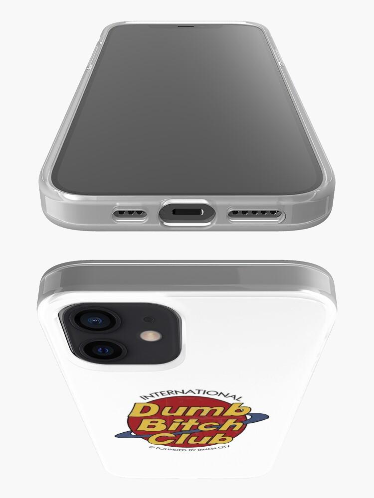 Alternate view of Dumb Bitch Club iPhone Case & Cover