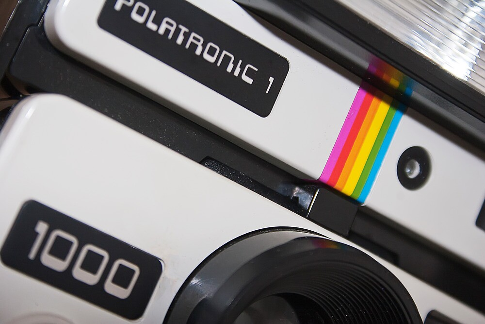 Retro Camera abstract by Ashley Beolens