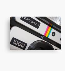 Retro Camera abstract Canvas Print