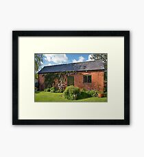 Garden Out Building Framed Print