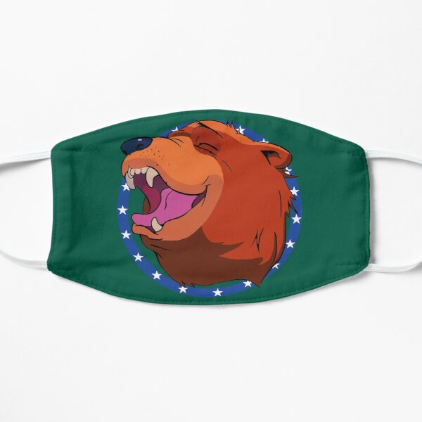 Bear for Hire Flat Mask