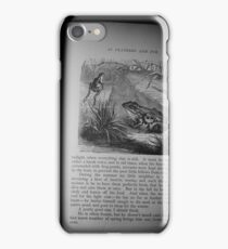 Frog Illustrated iPhone Case/Skin