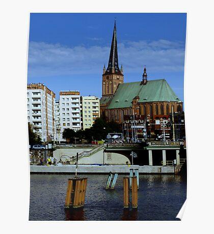 My lovely Szczecin Poster