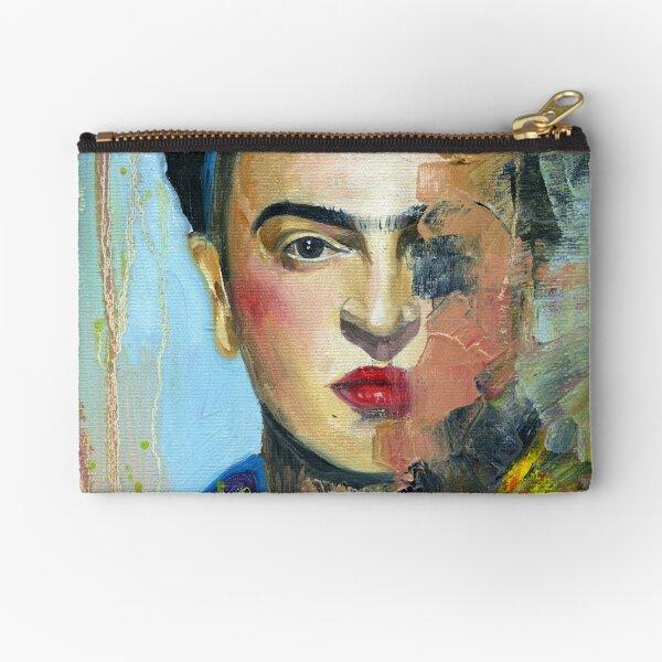 Frida Kahlo Art Zipper Pouch