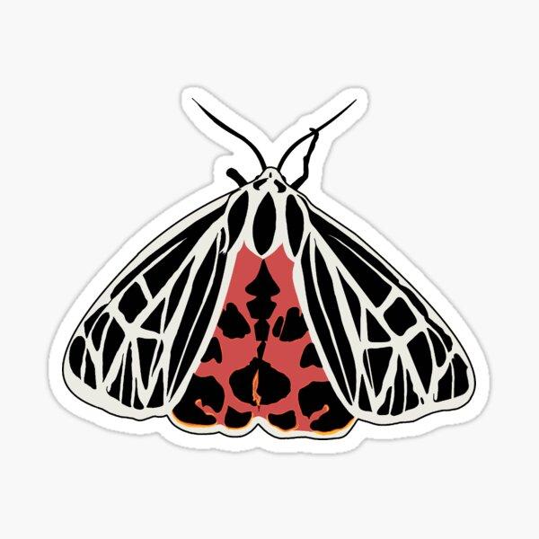 Garden Tiger Moth Sticker