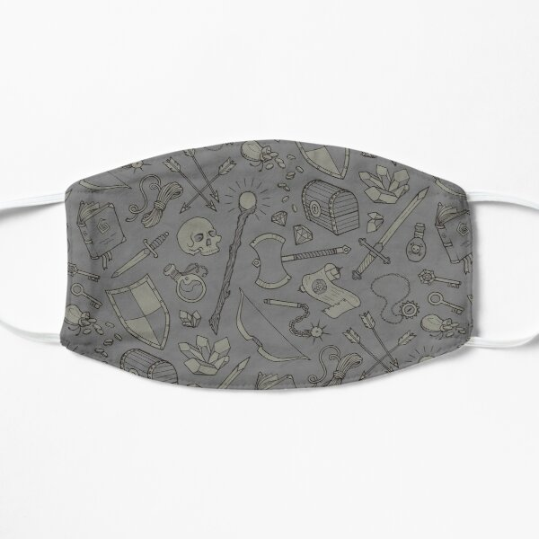 Inventory in Grey Flat Mask