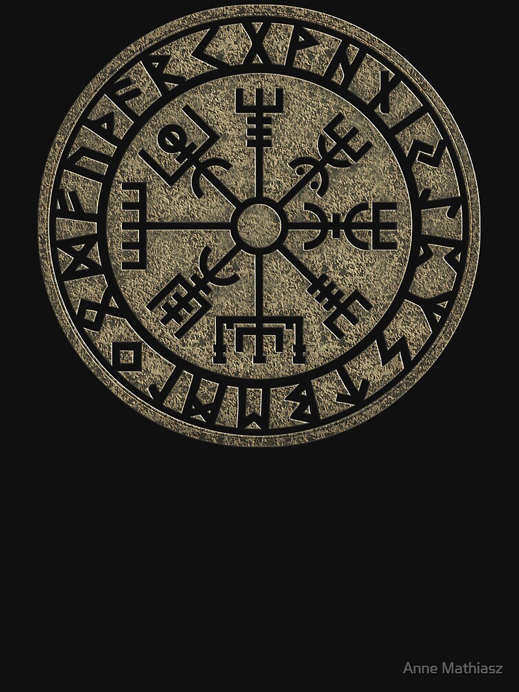 Vegvisir, viking compass, Norse, symbol, protection, nordic, vikings by nitty-gritty