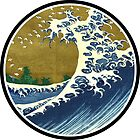 Japanese surf wave by notonlywaves