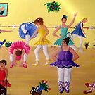 Ballet Class by Sandy Wager
