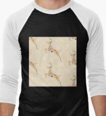 Christmas Pattern 07 Men's Baseball ¾ T-Shirt