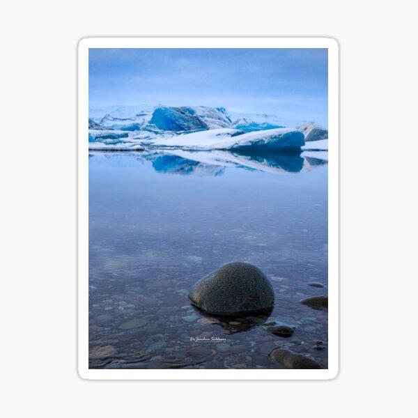 Jökulsárlón, Vatnajökull Gletscher, Island Sticker