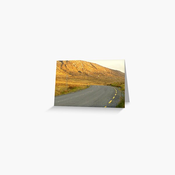 The Road Most Travelled Greeting Card