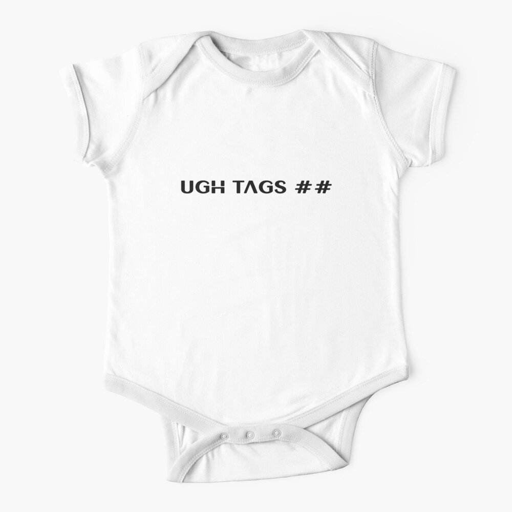 Robux Clothing Redbubble Roblox Ugh Tags Baby One Piece By T Shirt Designs Redbubble