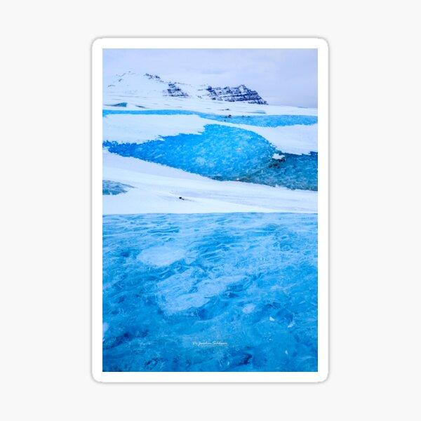 Vatnajökull Gletscher, Island Sticker
