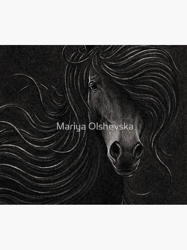 Night Horse by OzureFlame