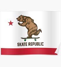 Skate Republic Poster
