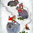 Bunnies' Christmas Party by Krys Bailey