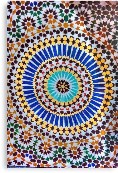 Mosaic of Fez HD by Jeff Johannsen