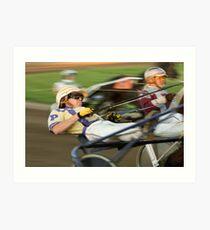 Harness Racing Art Print