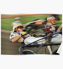Harness Racing Poster