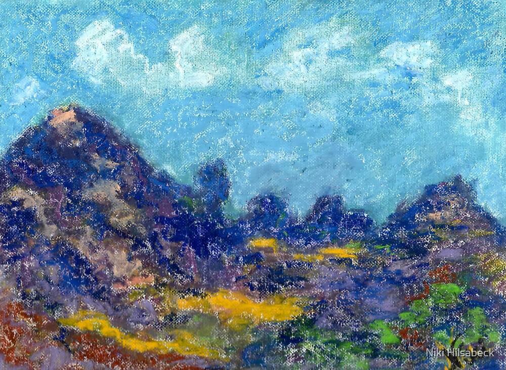 Ridgeline (pastel) by Niki Hilsabeck