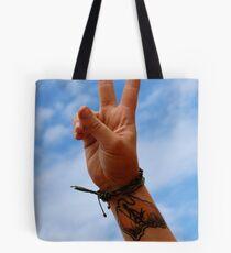Australia Sign Of Peace Tote Bag