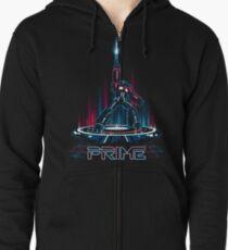 TRON-PRIME Zipped Hoodie