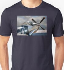 P51 Mustang - Ready for action Unisex T-Shirt