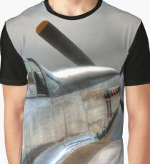 P51 Mustang - Ready for action Graphic T-Shirt