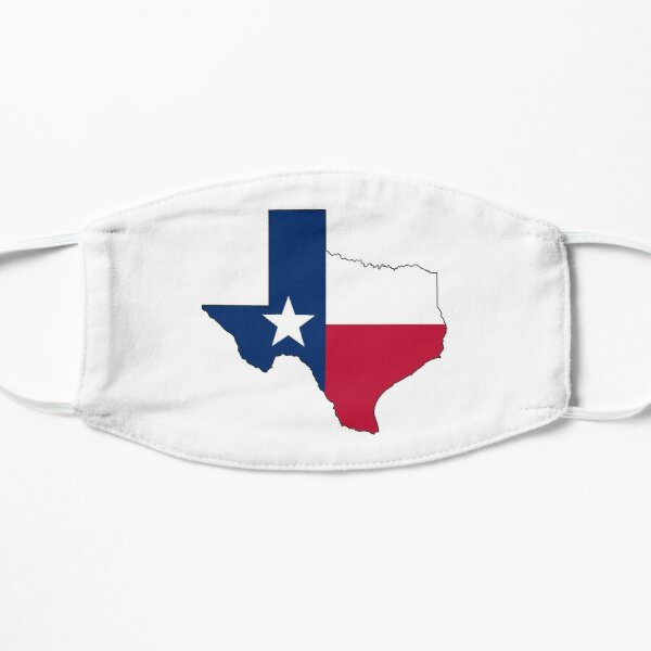 Texas Flag Mask