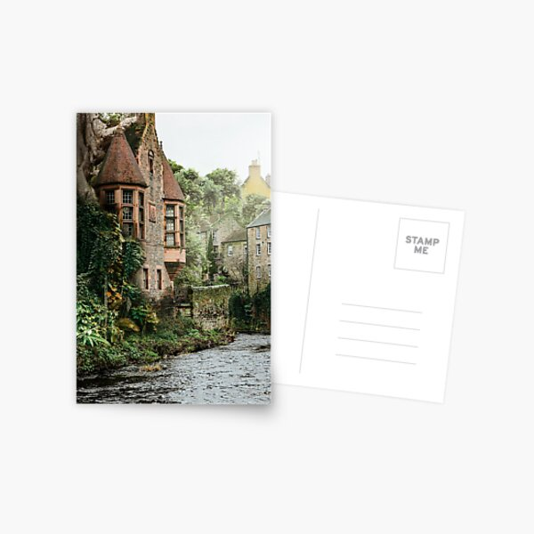 Edinburgh lockdown - Dean Village Postcard