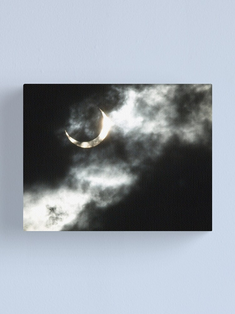 Alternate view of Annular Eclipse 2012 II Canvas Print